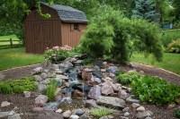 Pondless Waterfall, Backyard Landscape, Low Maintenance ...