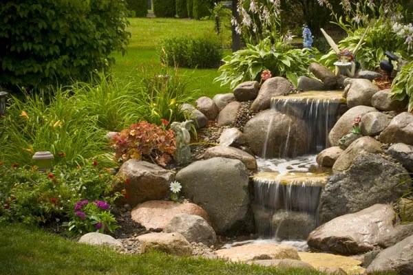 7 Beautiful Backyard Waterfall Ideas