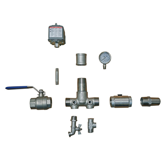 Stainless Steel Installation Tee Package FOR WELLMATE WM
