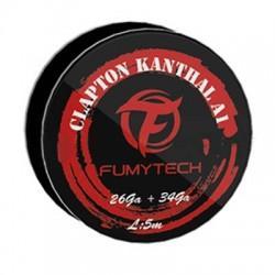 Fumytech Clapton Kanthal 26GA + 34GA