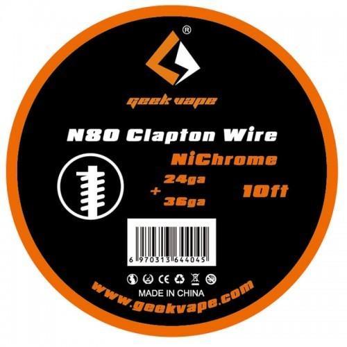 GeekVape Ni80 Clapton Wire 24GA+36GA
