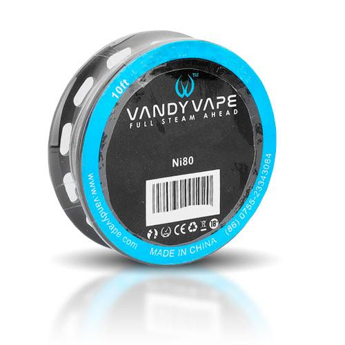 Vandy Vape Ni80 Fused Clapton Wire 2x26ga+35ga 10ft