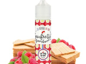 Gaufrette Framboise 50ml 0mg