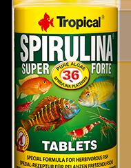 tropical super spirulina forte tables