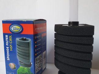aquanova sponge filter nsf-c80l