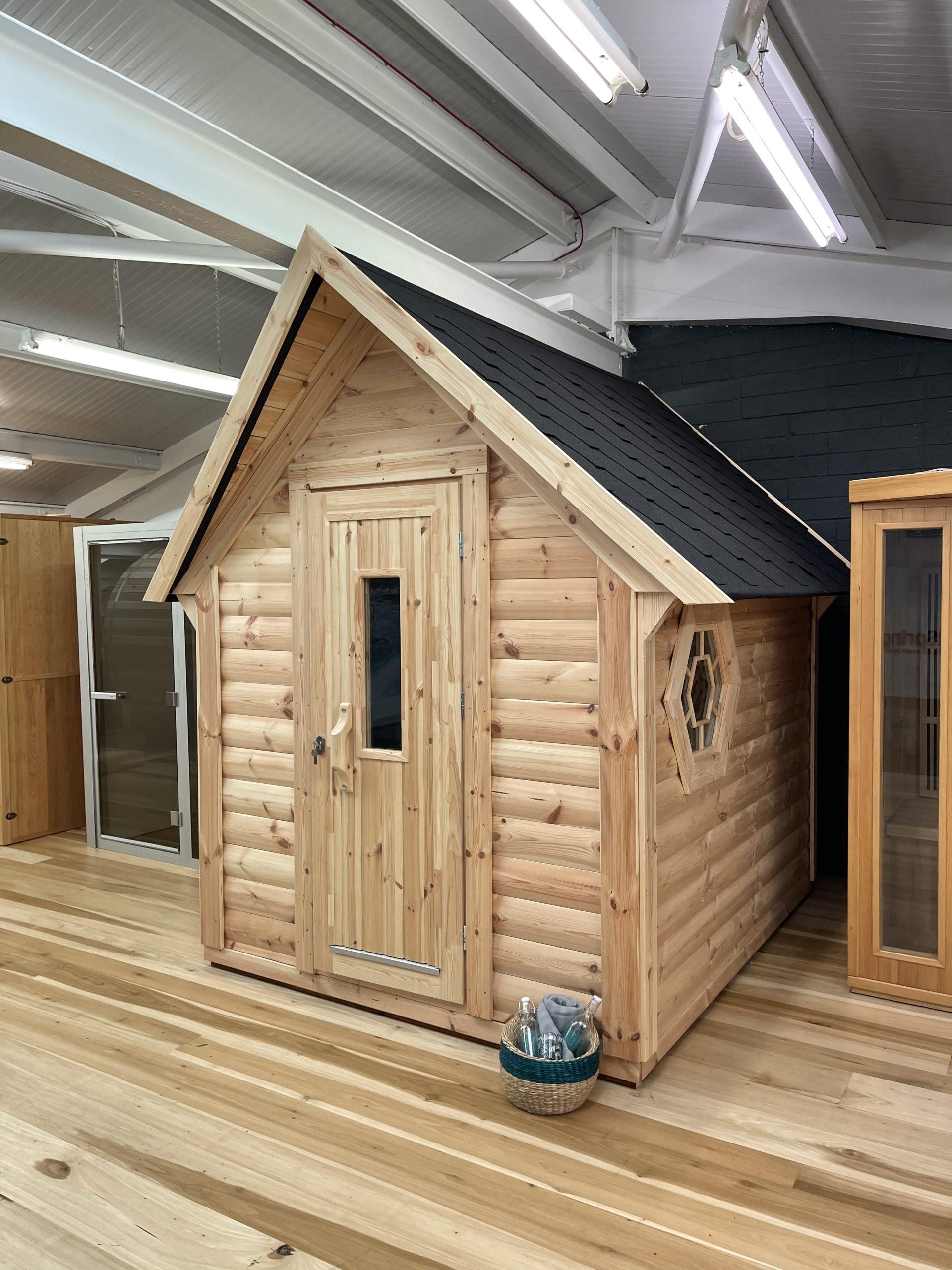 Mini Cabin Sauna
