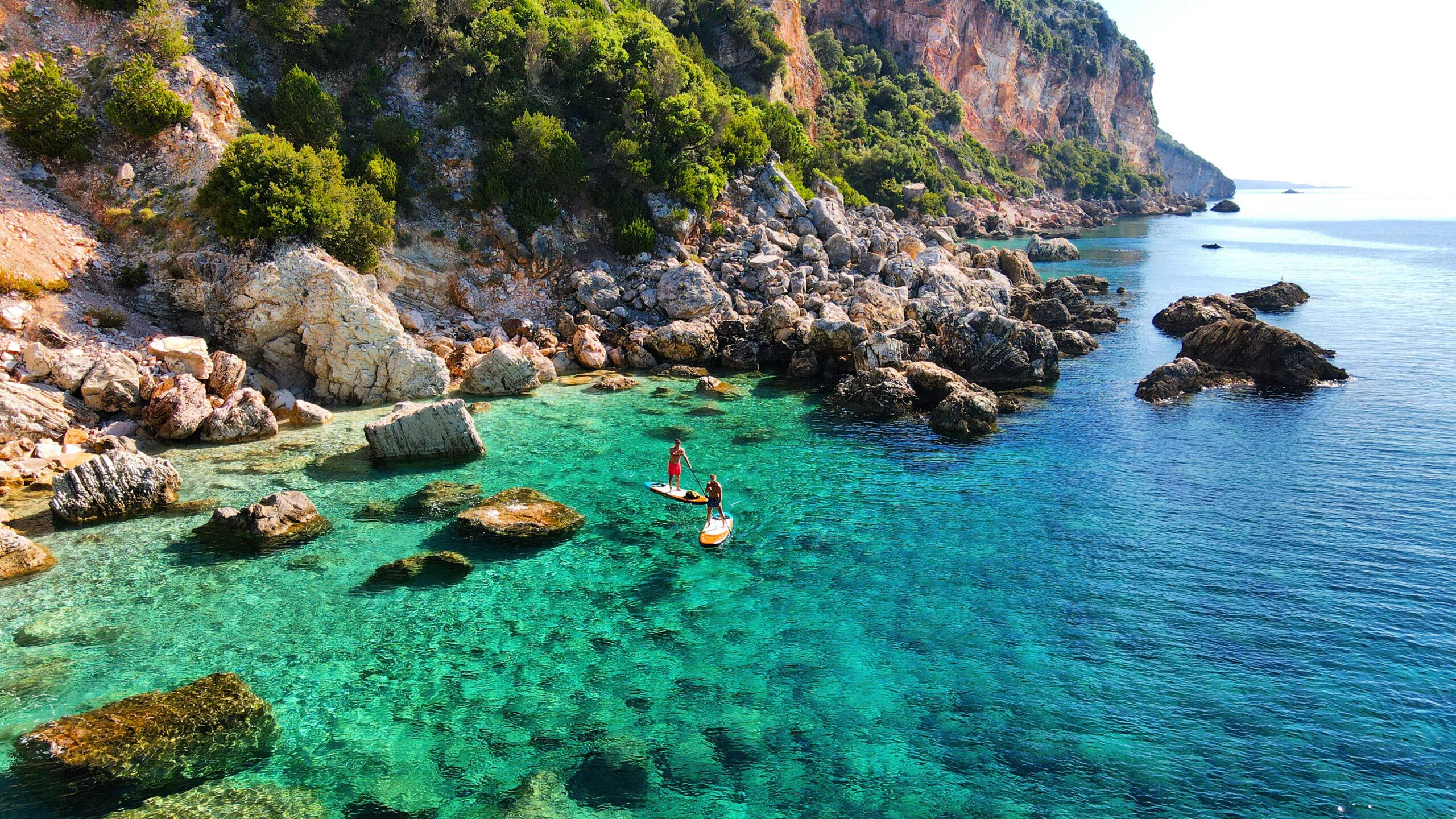 SUP Sailing holidays