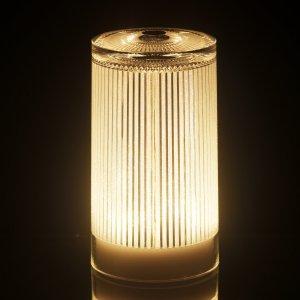 Imagilights Plisee Glitter LED tafellamp