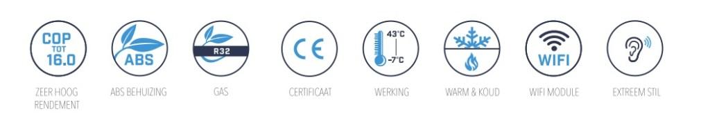 Eigenschappen-warmtepomp