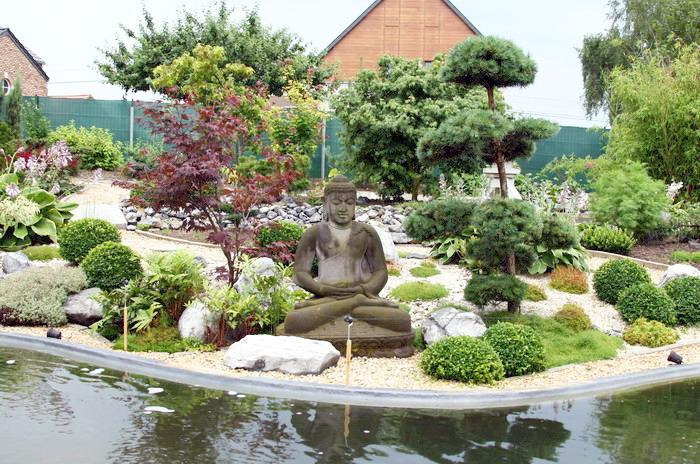Terrasse Jardin Japonais Deco Jardin Schiste U Bordeaux