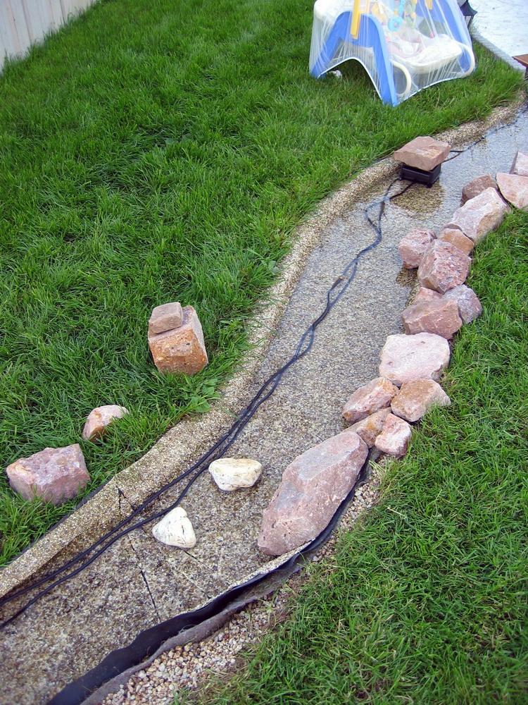 le p tit jardin de jm 2eme bassin et ruisseau