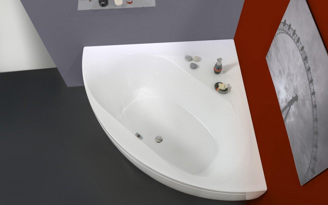 aquatica olivia wht petite baignoire en acrylique d angle