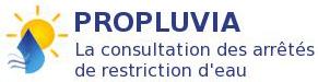 Propluvia - informations sur les restrictions d'eau en France