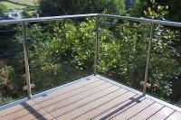 MODERN GLASS RAILING DESIGN IDEAS | Aquaview Glass Pool ...