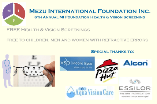 2017 MIF Vision & Health Fair – Baltimore, MD USA