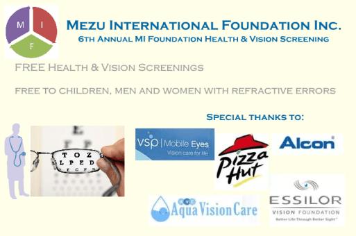 2017 MIF Vision & Health Fair – Baltimore, MD USA