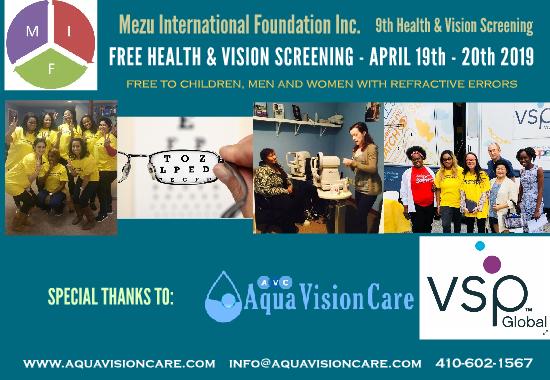 9th MIF, Aqua Vision, VSP Mobile Van – Health & Vision Fair