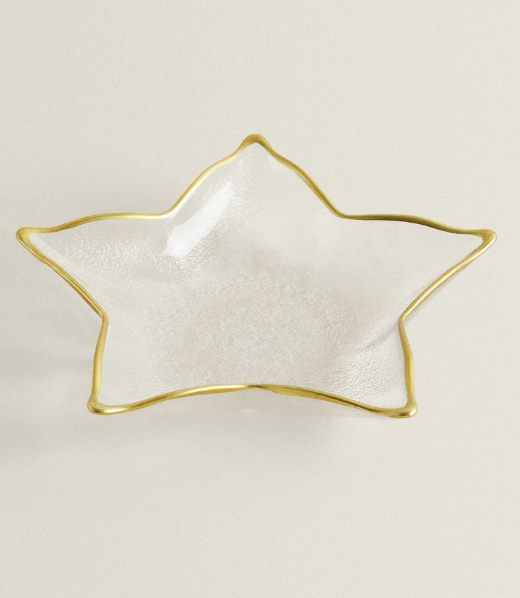 Bowl Estrella Filo Dorado de Zara Home