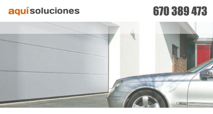 Puertas autom ticas persianas puertas de garaje aquicerrajeros - Puertas automaticas garaje precios ...