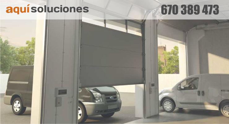 puertas de garaje automaticas