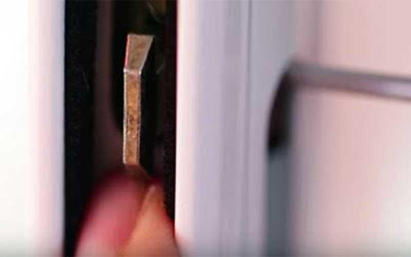 reparar el cierre de la ventana