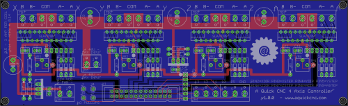 small resolution of 4 axis diy cnc controller board png