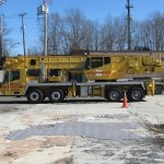 70 Ton Grove Tms 870b Long Boom Hydraulic Truck Crane