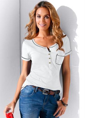 Blusa Branca com Bolso