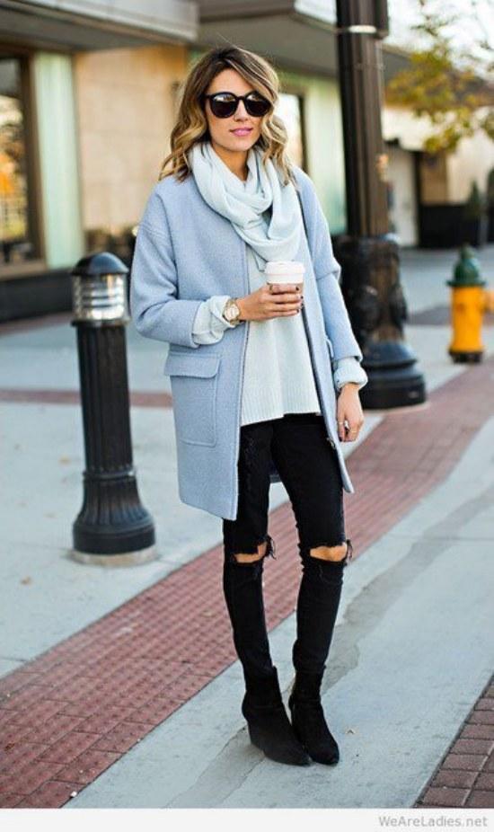 Outfits a la Moda con Ropa de Colores Pasteles para la