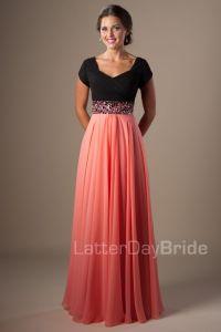 Vestidos de fiesta modestos y hermosos de moda | AquiModa ...