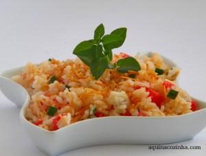 receita arroz de festa com coco