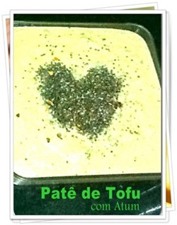 Pate de tofu com atum