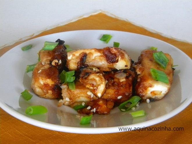 Tofu frito