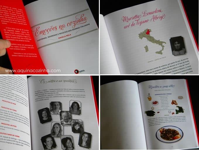 Livro emoções na cozinha