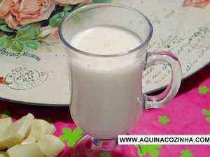 Chocolate quente branco