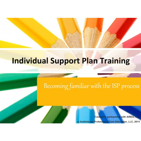 Individual Support Plans for the Developmentally Disabled  aQuire Training Solutions