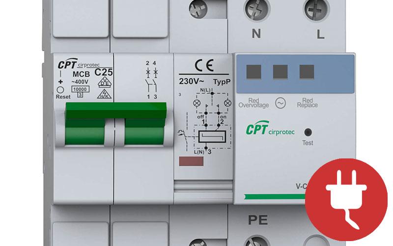 Prevenir la sobretensión eléctrica