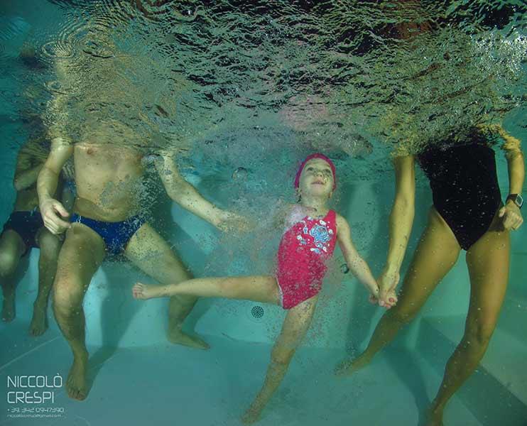 Corso di Nuoto Baby  AQVACLVB