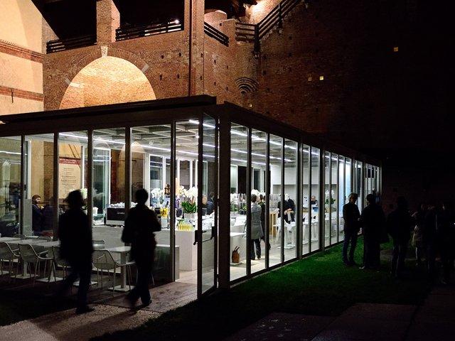 Caffetteria Calicantus al Castello Sforzesco Milano