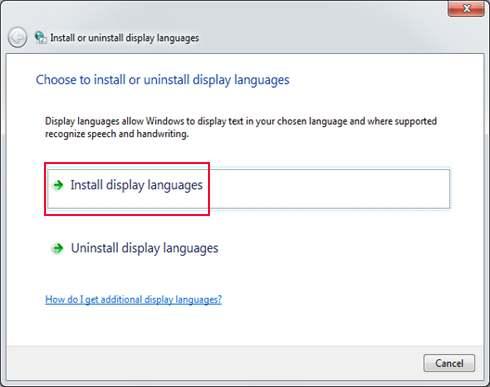 تعريب ويندوز 7 بدون برامج Windows 7 To Arabic فكرة نت العربي