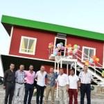 المنزل المقلوب في تركيا يجذب الزوار