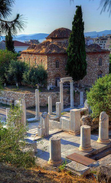 انغورا القديمة فى اليونان