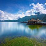 بحيرة باتور في جزيرة بالي الاندونيسية