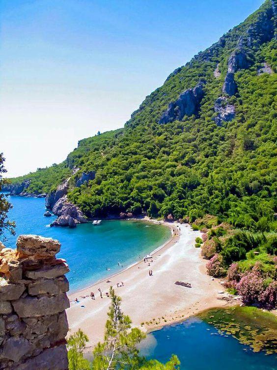 شاطئ أوليمبوس فى تركيا