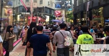 التسوق فى هونج كونج