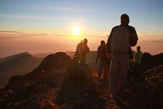 تسلق جبل Rinjani