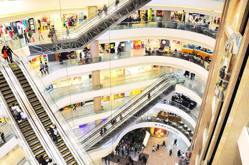 مراكز التسوق فى هونج كونج