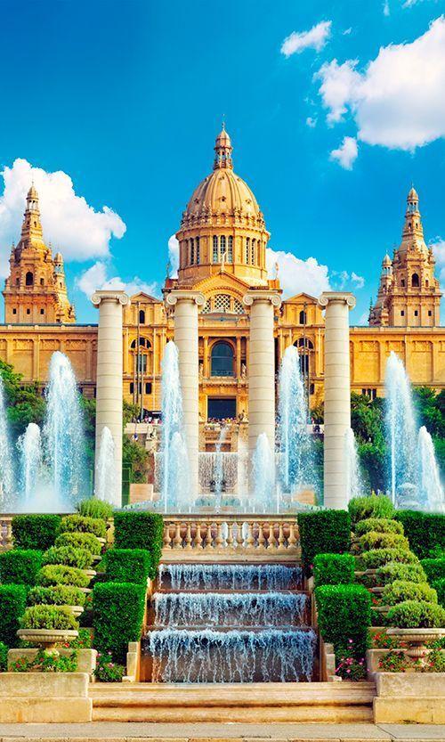 المتحف القومى لبرشلونة