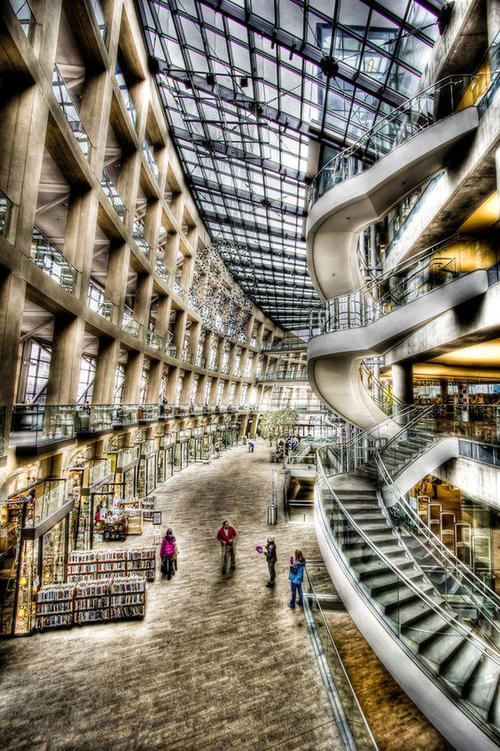 مكتبة سولت لايك سيتي