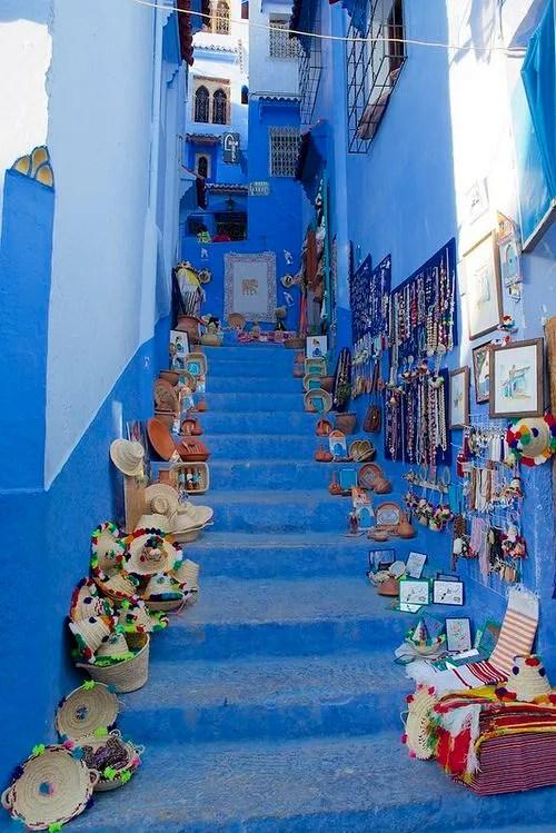 المدينة الزرقاء